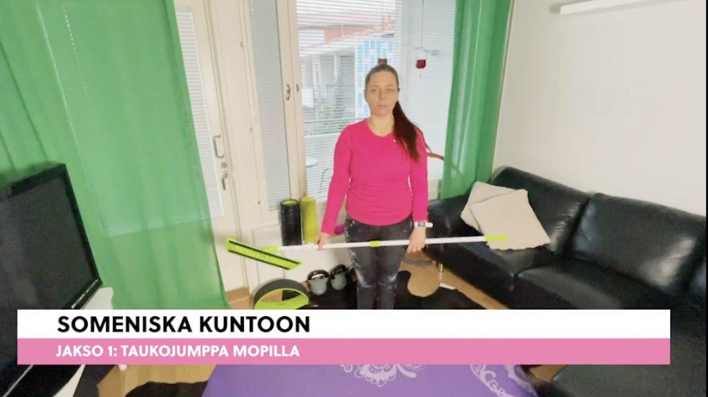 Someniska kuntoon- videosarja Super J:n YouTube kanavalla.